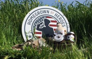Homegrown By Heroes Label Honors Farmer Veteran's Service