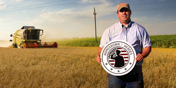 Homegrown By Heroes Label Now 500 Farmer Veterans Strong, 15 State Partnership Agreements