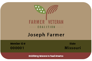 Veteran Members to Receive FVC Membership Cards